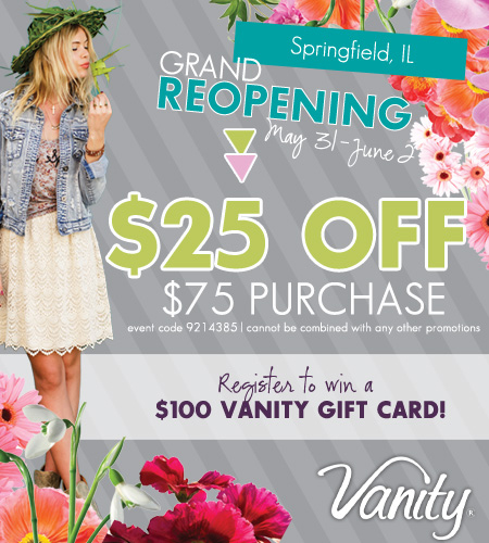 Springfield, IL is Celebrating their Grand Reopening this weekend!
